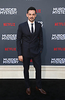 LOS ANGELES, CA - JUNE 10: Luis Gerardo Méndez, at the Los Angeles Premiere Screening of Murder Mystery at Regency Village Theatre in Los Angeles, California on June 10, 2019. <br /> CAP/MPIFS<br /> ©MPIFS/Capital Pictures
