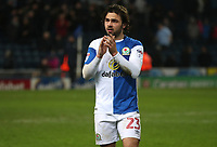 Blackburn Rovers' Bradley Dack at the end of todays match<br /> <br /> Photographer Rachel Holborn/CameraSport<br /> <br /> The EFL Sky Bet League One - Blackburn Rovers v Shrewsbury Town - Saturday 13th January 2018 - Ewood Park - Blackburn<br /> <br /> World Copyright &copy; 2018 CameraSport. All rights reserved. 43 Linden Ave. Countesthorpe. Leicester. England. LE8 5PG - Tel: +44 (0) 116 277 4147 - admin@camerasport.com - www.camerasport.com