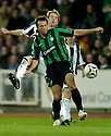 12/11/2006       Copyright Pic: James Stewart.File Name :sct_jspa23_st_mirren_v_celtic.KIRK BROADFOOT AND MACIEJ ZURAWSKI CHALLENGE.James Stewart Photo Agency 19 Carronlea Drive, Falkirk. FK2 8DN      Vat Reg No. 607 6932 25.Office     : +44 (0)1324 570906     .Mobile   : +44 (0)7721 416997.Fax         : +44 (0)1324 570906.E-mail  :  jim@jspa.co.uk.If you require further information then contact Jim Stewart on any of the numbers above.........