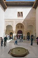 ESP, Spanien, Andalusien, Granada: Alhambra, Patio del Mexuar   ESP, Spain, Andalusia, Granada: Alhambra, Patio del Mexuar
