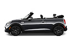 Car Driver side profile view of a 2016 MINI Cooper S 2 Door Convertible Side View