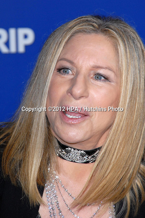 LOS ANGELES - DEC 11:  Barbra Streisand arrives to 'The Guilt Trip' premiere at Village Theater on December 11, 2012 in Westwood, CA