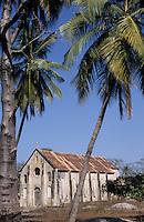 Afrique/Afrique de l'Ouest/Sénégal/Basse-Casamance/Karabane : L'église bretonne