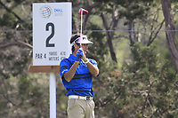 Bubba Watson (USA) on the 2nd during the 1st round at the WGC Dell Technologies Matchplay championship, Austin Country Club, Austin, Texas, USA. 22/03/2017.<br /> Picture: Golffile | Fran Caffrey<br /> <br /> <br /> All photo usage must carry mandatory copyright credit (&copy; Golffile | Fran Caffrey)