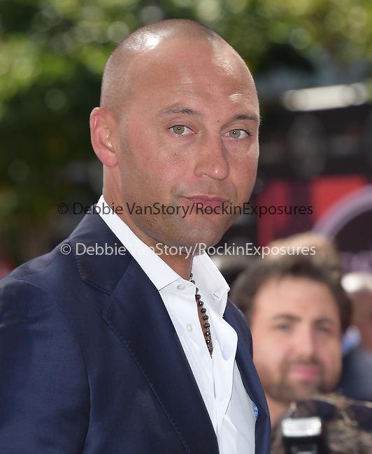 Derek Jeter attends The 2015 ESPY Awards held at The Microsoft Theatre  in Los Angeles, California on July 15,2015                                                                               © 2015 Hollywood Press Agency