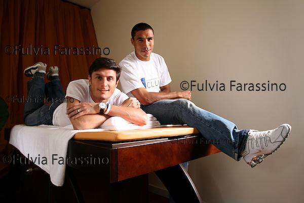 Milano, Ivan Cordoba, Javier Zanetti.IF Club Cassina Rizzardi © Fulvia Farassino