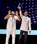 CORAL GABLES, FL - APRIL 28: Alexander Delgado and Randy Malcom Martinez of Gente de Zona onstage at the Billboard Latin Music Awards at the BanKUnited Center on Thursday April 28, 2016 in Coral Gables, Florida. ( Photo by Johnny Louis / jlnphotography.com )