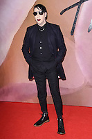 Marilyn Manson at the Fashion Awards 2016 at the Royal Albert Hall, London. December 5, 2016<br /> Picture: Steve Vas/Featureflash/SilverHub 0208 004 5359/ 07711 972644 Editors@silverhubmedia.com