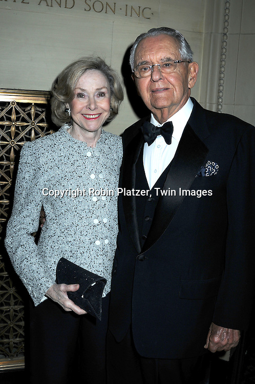 Joan Ganz Cooney and husband Pete Peterson