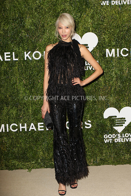 www.acepixs.com<br /> <br /> October 17 2016, New York City<br /> <br /> Soo Joo Park arriving at the God's Love We Deliver Golden Heart Awards on October 17, 2016 in New York City. <br /> <br /> By Line: Nancy Rivera/ACE Pictures<br /> <br /> <br /> ACE Pictures Inc<br /> Tel: 6467670430<br /> Email: info@acepixs.com<br /> www.acepixs.com