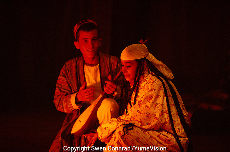 A classic Tadzhik play at the National theatre of Dushanbe