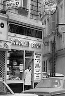 Paris, August 1977. Rue Geoffroy-Marie. Vie Quotidienne des Juifs a Paris.