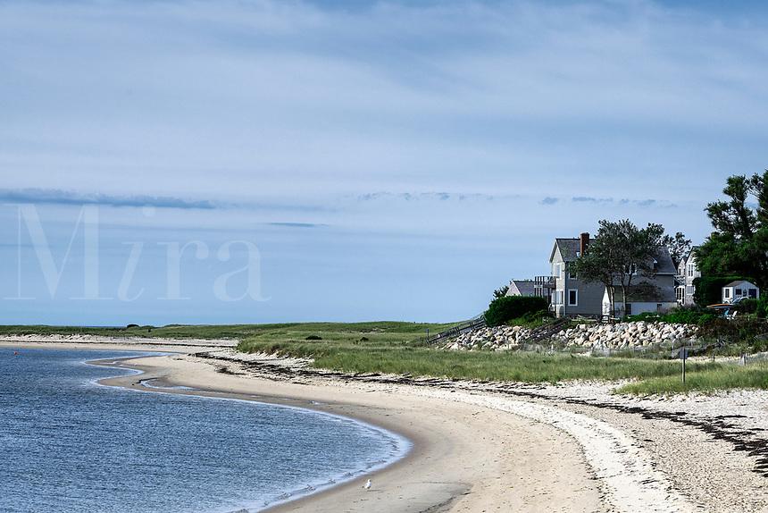 Remote beach house.