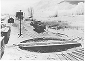 Turntable at Ridgway.<br /> RGS  Ridgway, CO