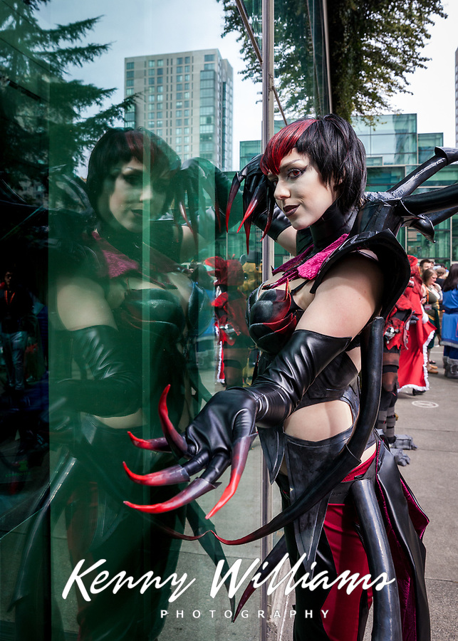 Elise Cosplay, Sakura Con 2016, Seattle, Washington, USA.