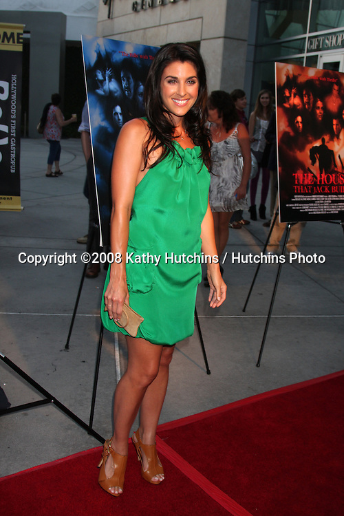 "Monica Allgeier  arriving at the ""House that Jack Built"" Screening at the ArcLight Theaters in Los Angeles, CA  on July 14, 2009 .©2008 Kathy Hutchins / Hutchins Photo.."