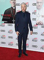 "18 November 2019 - Hollywood, California - Anthony McCarten. 2019 AFI Fest's "" The Two Popes"" Los Angeles Premiere held at TCL Chinese Theatre. Photo Credit: Birdie Thompson/AdMedia"