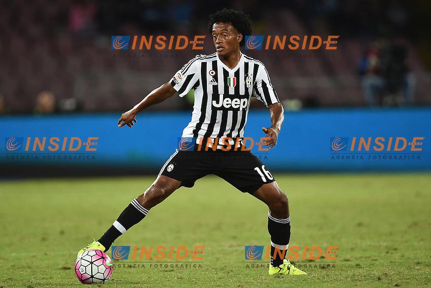 Juan Cuadrado Juventus <br /> Napoli 29-09-2015 Stadio San Paolo Football Calcio Serie A 2015/2016 Napoli - Juventus Foto Andrea Staccioli / Insidefoto