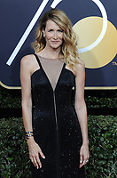 www.acepixs.com<br /> <br /> January 7 2018, LA<br /> <br /> Laura Dern arriving at the 75th Annual Golden Globe Awards at The Beverly Hilton Hotel on January 7, 2018 in Beverly Hills, California.<br /> <br /> By Line: Peter West/ACE Pictures<br /> <br /> <br /> ACE Pictures Inc<br /> Tel: 6467670430<br /> Email: info@acepixs.com<br /> www.acepixs.com