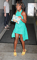 NEW YORK, NY - JULY 13:  Naturi Naughton spotted arriving at 'AOL Build' to promote the television series 'POWER' in New York, New York on July 13, 2016.  Photo Credit: Rainmaker Photo/MediaPunch