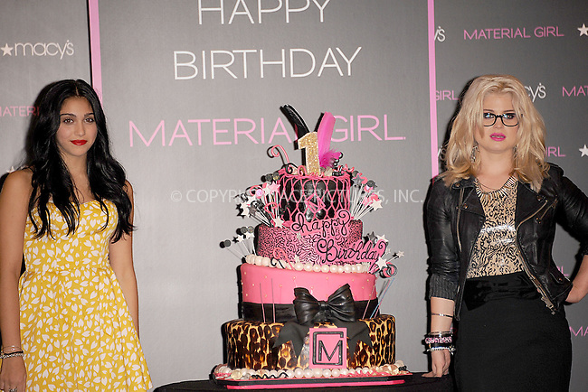 WWW.ACEPIXS.COM . . . . . .September 20, 2011...New York City...Lola Leon and Kelly Osbourne celebrate the Material Girl 1st Birthday at Macy's Herald Square on September 20, 2011 in New York City.....Please byline: KRISTIN CALLAHAN - ACEPIXS.COM.. . . . . . ..Ace Pictures, Inc: ..tel: (212) 243 8787 or (646) 769 0430..e-mail: info@acepixs.com..web: http://www.acepixs.com .