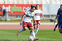 20190301 - LARNACA , CYPRUS : Mexican Stephany Mayor pictured during a women's soccer game between Thailand and Mexico , on Friday 1 March 2019 at the GSZ Stadium in Larnaca , Cyprus . This is the second game in group B for both teams during the Cyprus Womens Cup 2019 , a prestigious women soccer tournament as a preparation on the FIFA Women's World Cup 2019 in France . PHOTO SPORTPIX.BE | DAVID CATRY