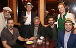 Anthony Azizi, Dariush Kashani, Jefferson Mays, Jeff Still, Michael Aronov, and Jennifer Ehle and J.T. Rogers attends the 2017 New York Drama Critics' Circle Awards Reception at Feinstein's / 54 Below on 5/18/2017 in New York City.