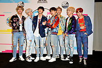BTS at the 2017 American Music Awards at the Microsoft Theatre LA Live, Los Angeles, USA 19 Nov. 2017<br /> Picture: Paul Smith/Featureflash/SilverHub 0208 004 5359 sales@silverhubmedia.com