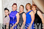 Pictured at the Fashion Show in the Earl of Desmond Hotel on Thursday night, were from left: Cheyenne Downey, Bernadine Murphy, Dana Gould, Dot Stack and Sabrina Murphy, all from Listowel.