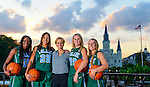 Tulane Women's Basketball-Senior Photoshoot