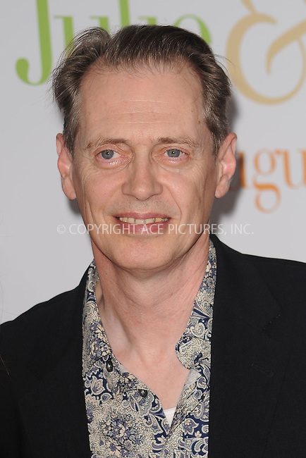 WWW.ACEPIXS.COM . . . . . ....July 30 2009, New York City....Actor Steve Buscemi arriving at the 'Julie & Julia' premiere at the Ziegfeld Theatre on July 30, 2009 in New York City. ....Please byline: KRISTIN CALLAHAN - ACEPIXS.COM.. . . . . . ..Ace Pictures, Inc:  ..tel: (212) 243 8787 or (646) 769 0430..e-mail: info@acepixs.com..web: http://www.acepixs.com