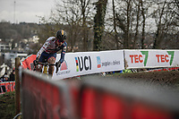 Thomas Pidcock (GBR/Telenet Fidea Lions) <br /> <br /> Men U23 Race<br /> UCI CX Worlds 2018<br /> Valkenburg - The Netherlands