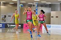 Southern Blast&rsquo;s Julia Law in action during the Beko Netball League - Central Manawa v Southern Blast at ASB Sports Centre, Wellington, New Zealand on Sunday 12 May 2019. <br /> Photo by Masanori Udagawa. <br /> www.photowellington.photoshelter.com
