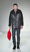 Wednesday, 9 January 2013. London, United Kingdom. Designer Christopher Raeburn's catwalk show during London Collections: Men. Menswear fashion event which used to be part of London Fashion Week. Autum Winter 2013 collection. Photo credit: CatwalkFashion/Alamy Live News