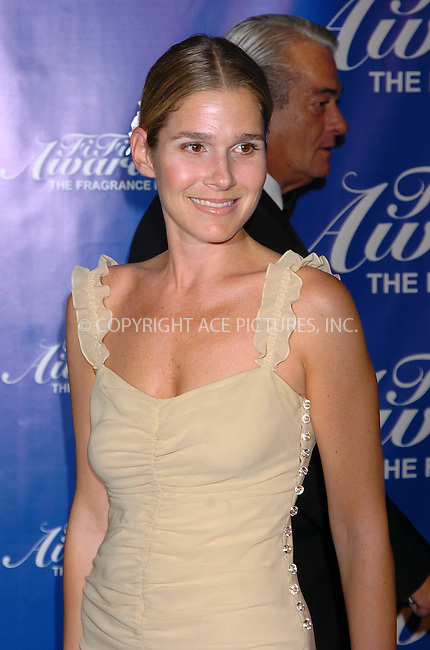 "WWW.ACEPIXS.COM . . . . .  ....NEW YORK, JUNE 9, 2004....Aerin Lauder attends the 32nd Annual Fragrance Foundation's ""FiFi"" Awards at the Hammerstein Ballroom, in New York City.....Please byline: AJ Sokalner - ACE PICTURES..... *** ***..Ace Pictures, Inc:  ..Alecsey Boldeskul (646) 267-6913 ..Philip Vaughan (646) 769-0430..e-mail: info@acepixs.com..web: http://www.acepixs.com"