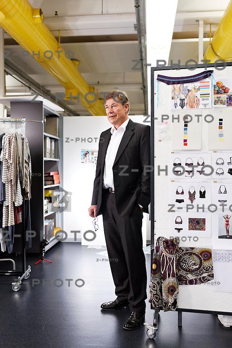 Interview und Portrait von Felix Sulzberger CEO der Calida Holding AG im Hauptsitz in Sursee am 3. November 2011..Copyright © Zvonimir Pisonic