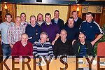 Staff from Irish Rail enjoying their christmas party in the Killarney Avenue Hotel on Friday night front from left: Mick McCarthy, Sean McCarthy, Pat McCarthy, and Connie Crowley. Back from left: Alan O'Sullivan, Donal Rahilly, Laurence O'Dowd, Billy Moynihan, Jonathan Healy, George Marshall, Tom Hickey, Connie Tarrant, Liam Bartlett and Timmy Teahon.