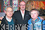 Louis Carroll Tribute Concert : Pictured at the Louis Carroll tribute Concert held in St. John's Arts & Heritage Centre, Listowel on Saturday night last were Nicky Risi, Philip O'Carroll & Dymnpa O'Carroll Risi.