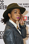 """Kara Young attends the rehearsal photo call for the MCC Theater's production of """"All The Natalie Portmans"""" on January 15, 2019 in New York City."""