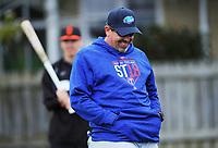 Head coach Steve Mintz. Auckland Tuatara Baseball trials at Scots College in Wellington, New Zealand on Saturday, 15 September 2018. Photo: Dave Lintott / lintottphoto.co.nz