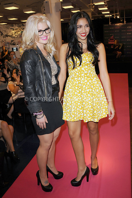 WWW.ACEPIXS.COM . . . . . .September 20, 2011...New York City... Kelly Osbourne and Lola Leon celebrate the Material Girl 1st Birthday at Macy's Herald Square on September 20, 2011 in New York City.....Please byline: KRISTIN CALLAHAN - ACEPIXS.COM.. . . . . . ..Ace Pictures, Inc: ..tel: (212) 243 8787 or (646) 769 0430..e-mail: info@acepixs.com..web: http://www.acepixs.com .
