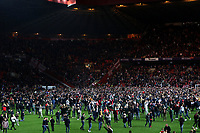 Charlton fans invade the pitch to celebrate their victory during Charlton Athletic vs Doncaster Rovers, Sky Bet EFL League 1 Play-Off Football at The Valley on 17th May 2019
