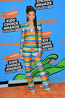 Storm Reid at Nickelodeon's 2018 Kids' Choice Awards at The Forum, Los Angeles, USA 24 March 2018<br /> Picture: Paul Smith/Featureflash/SilverHub 0208 004 5359 sales@silverhubmedia.com