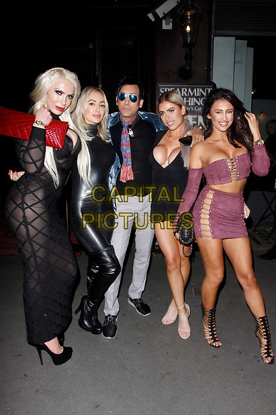 LONDON, ENGLAND - SEPTEMBER 14 :  Chelsea Singh and Amber Rose attend the UK Glamour Awards, at Spearmint Rhino Bloomsbury on September 14, 2017 in London, England.<br /> CAP/AH<br /> &copy;AH/Capital Pictures