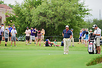 Graeme McDowell (NIR) looks over his second shot on 14 during round 4 of the Dean &amp; Deluca Invitational, at The Colonial, Ft. Worth, Texas, USA. 5/28/2017.<br /> Picture: Golffile | Ken Murray<br /> <br /> <br /> All photo usage must carry mandatory copyright credit (&copy; Golffile | Ken Murray)