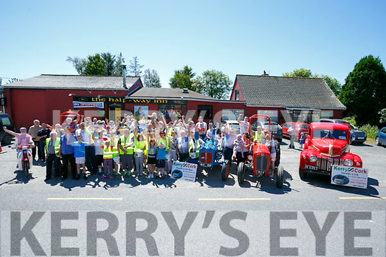 Castleisland Vintage Run from the Half way bar Ballymac on Sunday Kerry Cork Health link