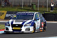 Round 8 of the 2018 British Touring Car Championship.  #99 Jason Plato. Adrian Flux Subaru Racing. Subaru Levorg GT.