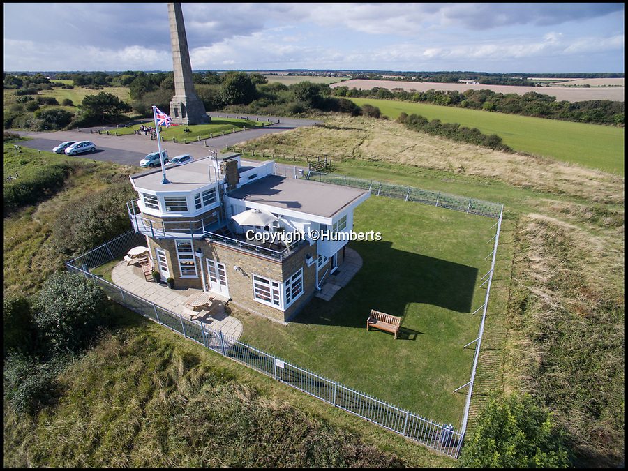 """BNPS.co.uk (01202 558833)Pic: Humberts/BNPS<br /> <br /> Bluebird Tea Rooms sits in a stunning position on top of the iconic White Cliffs of Dover.<br /> <br /> A former coastguard station that played an important role in the Second World War and was visited by Sir Winston Churchill is now a tea room and holiday let business on the market for £1.5m.<br /> <br /> Bluebird Tea Rooms sits in a stunning position on top of the iconic White Cliffs of Dover with breathtaking panoramic views across the English Channel.<br /> <br /> The lookout post played an important part in Britain's defences during the Second World War and the underground operations room, built 35ft below the building, was visited by Churchill twice during the war.<br /> <br /> That room is now just used for storage but the building would make a great business for someone or could potentially become a stunning family home if permission was granted for change of use.<br /> <br /> The """"one of a kind"""" property is now on the market with Humberts."""