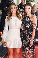Kym Marsh &amp; Faye Brookes at the TRIC Awards 2017 at the Grosvenor House Hotel, Mayfair, London, UK. <br /> 14 March  2017<br /> Picture: Steve Vas/Featureflash/SilverHub 0208 004 5359 sales@silverhubmedia.com