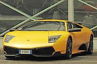 A Lamborghini Murciélago LP 670-4 SV